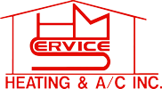 HMS HEATING and AC INC Logo